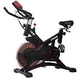 ISE Indoor Spinning Bike Cardio con Volano da 13 kg,Display LCD,Misurazione...