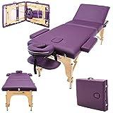 Massage Imperial Chalfont - Lettino da Massaggio Portatile PRO Luxe - 3 Zone -...