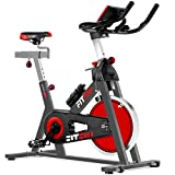 Fitfiu Fitness BESP-22, Bicicletta Spinning Ergonomica, 24 kg Volano di Inerzia,...