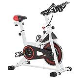 homcom Cyclette Professionale, Cyclette da Camera Regolabile con Schermo LCD e...