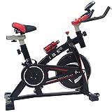 ISE Spinning Bike Ergonomica, Bicicletta Cyclette da Allenamento,Volante di...
