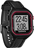 Garmin Forerunner 25 Running GPS con Funzione Fitness Band, Large, Nero/Rosso