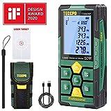 Misuratore Laser 50m,USB Carica Rapida, TECCPO telemetro laser, Decorazione...