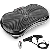 FITFIU Fitness PV-100 - Pedana vibrante oscillante colore nero e potenza 400w,...