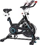 ANCHEER Cyclette da casa, Bici da Spinning, Bicicletta per Allenamento, ,...