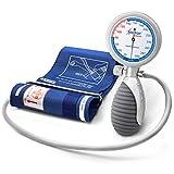 AIESI Sfigmomanometro Manuale Professionale Aneroide modello palmare per adulti...