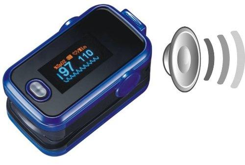 Saturimetro da dito SPO2</a></strong>. È un pulsossimetro da dito con display a cristalli liquidi colorati, permette la misurazione della saturazione di ossigeno e della frequenza cardiaca ed è dotato di garanzia italiana di due anni. Ha una segnalazione di fine carica delle batterie e può funzionare in continuità per 30 ore, ed è in grado di emettere segnale sonoro e visivo in caso di valori bassi. Autospegnimento dopo otto secondi di assenza di segnali per risparmio energetico. Dimensioni: lunghezza 60mm, larghezza 36mm, altezza 23mm per un peso di 50g.